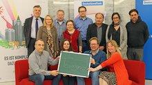 Die ver.di-Kandidaten für die Personalratswahl im Deutschlandradio Köln