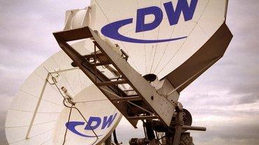 DW-Satelliten-Schüsseln