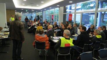 Beim NDR sind die KollegInnen in Hamburg und Hannover dem ver.di-Aufruf zu einem Warnstreik gefolgt