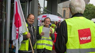 Warnstreik@WDR