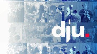 Logo der dju in ver.di Fachbereich Medien, Kunst und Industrie