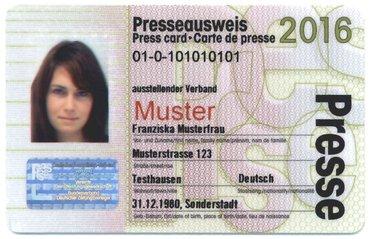 Presseausweis 2016