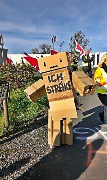 Amazon-Streik: Es rappelt im Karton!