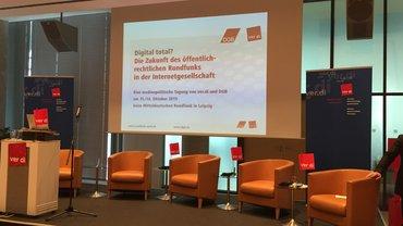 """Medienpolitische Tagung beim MDR in Leipzig """"Digital total? Die Zukunft des öffentlich-rechtlichen Rundfunks in der Internetgesellschaft"""
