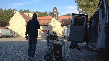 """ver.di FilmUnion am Set von """"Allein gegen die Zeit"""" der Askania Media GmbH in Wernigerode"""