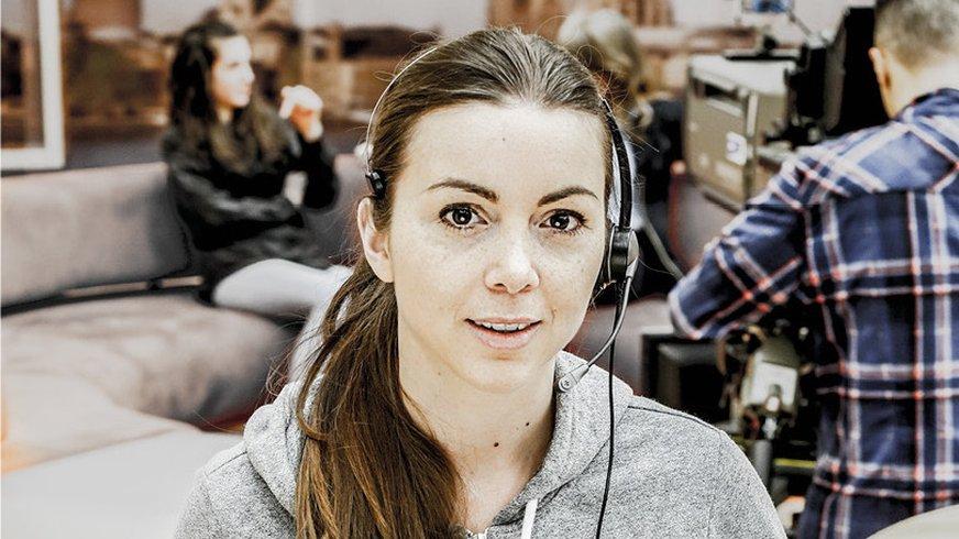 Imageplakat ver.di im Rundfunk