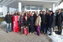 Teilnehmer VL-Klausur im ver.di Bildungszentrum Mosbach im Januar 2016