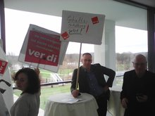 DW Protest gegen Rentenkürzungen