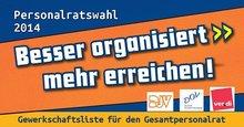 Flyer zur Personalratswahl 2014 im SWR