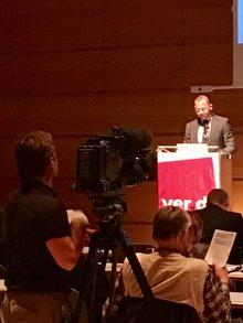 """Medienpolitische Tagung """"Rundfunk im Abseits"""": Frank Werneke"""