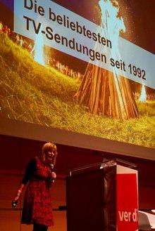 """Medienpolitische Tagung """"Rundfunk im Abseits"""": Birgit van Eimeren, Bayerischer Rundfunk"""