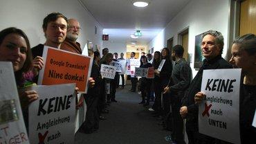 Deutsche Welle: Beschäftigte protestieren gegen Honorarkürzungen