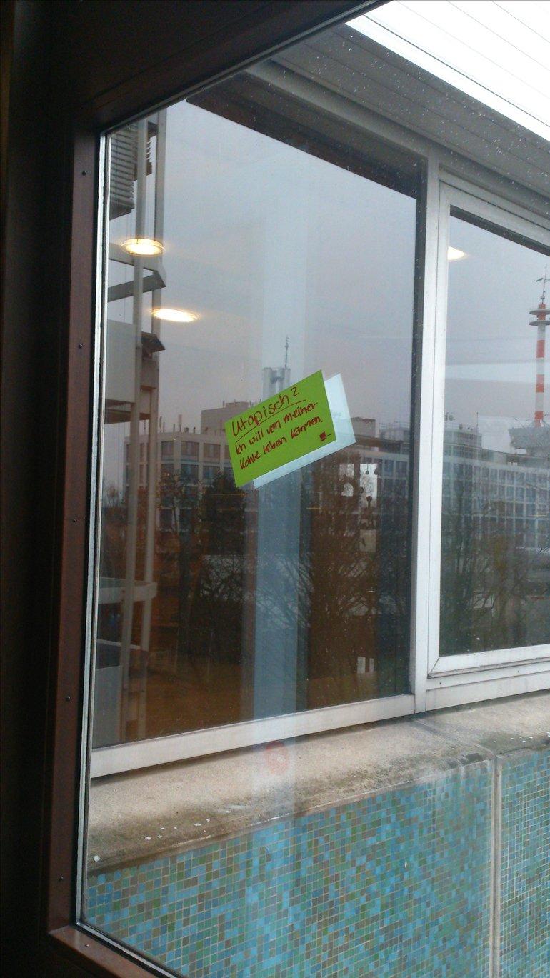 Aktion der ver.di-Jugend im hr Ende November 2015