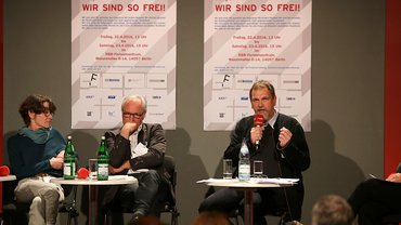 Podiumsdiskussion auf dem Freienkongress 2016