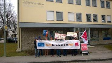 Streik bei der PNP
