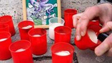 Kerzen beim NK