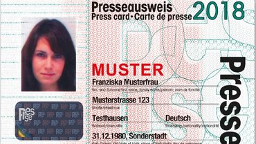 Presseausweis 2018