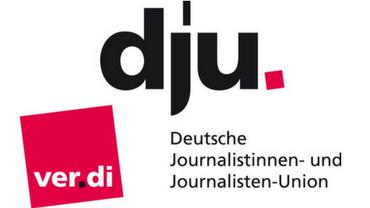 Logo der dju in ver.di