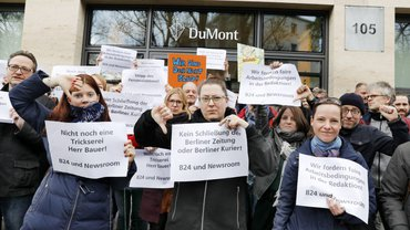 Aktive Mittagspause bei DuMont in Berlin