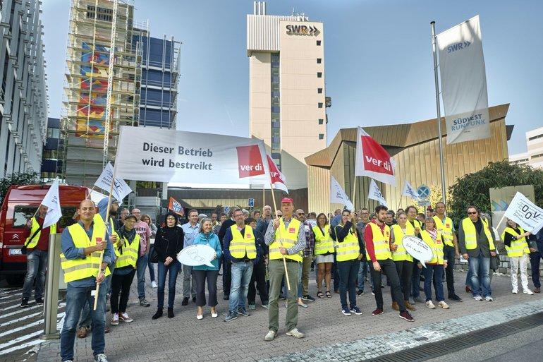 SWR-Streik am 18.09.2019