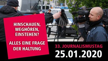 Journalismustag 2020 Teaserbild